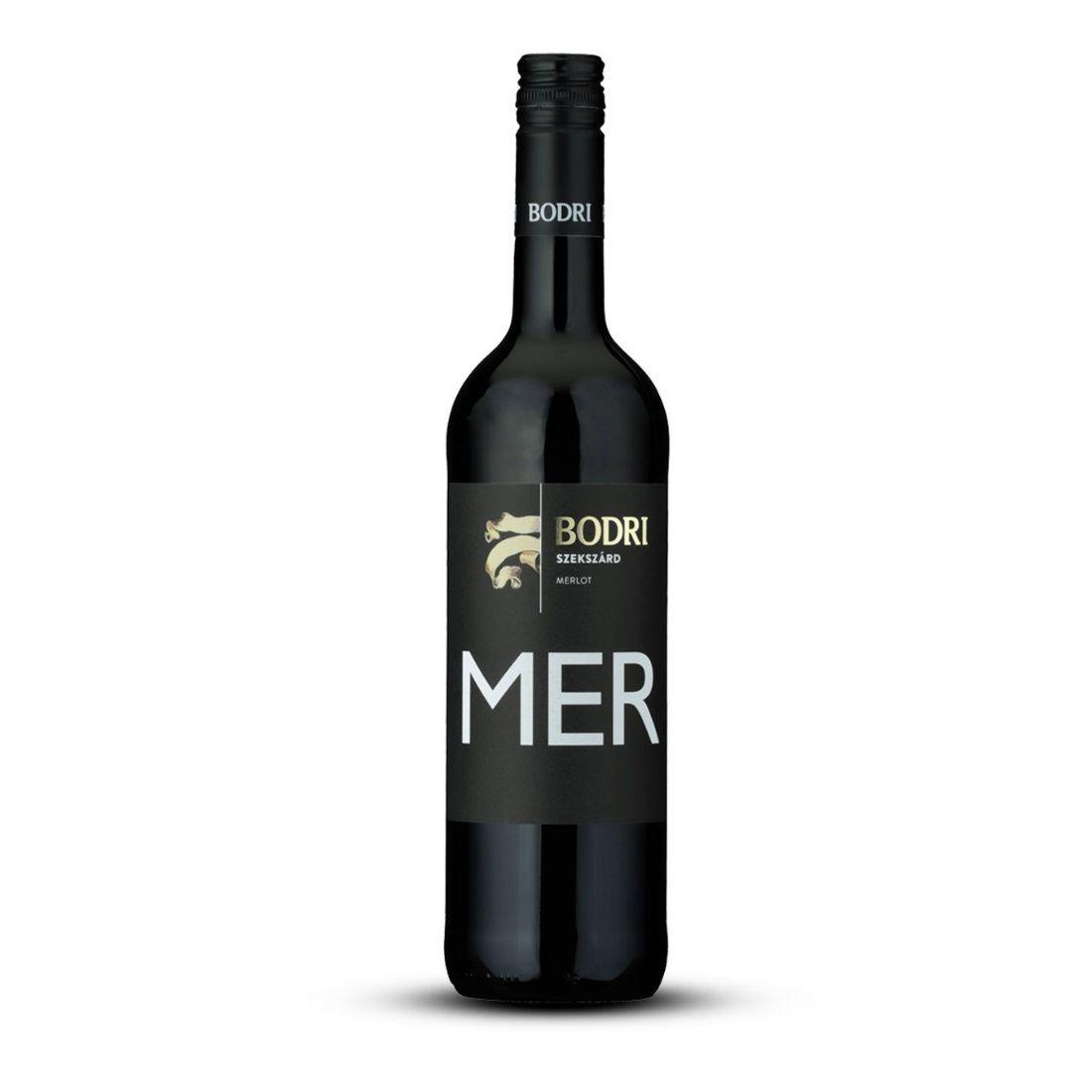 Bodri Merlot 2018 0,75 Szekszárd